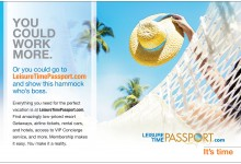 Leisure Time Passport Ads